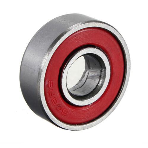 10Pcs ABEC-7 Skateboard Longboard 608zz Skate Roller Hocker Wheel Steel Bearings