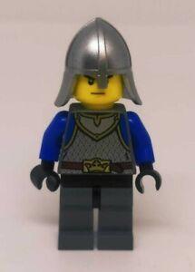 MINIFIGURE LEGO CASTLE KING'S KNIGHT BLUE