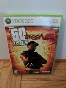 50 Cent Blood On The Sand Xbox 360 Japan Import 752919550953 Ebay