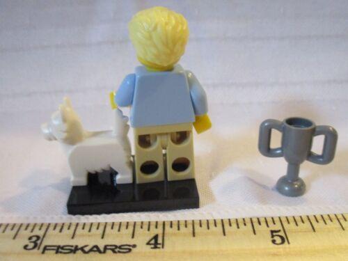 LEGO Blind Bag Series 16 Minifigure Minifig Dog Show Winner Trophy Westminster