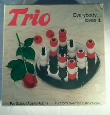 Vintage 1978 Trio Board Game, Complete, Clean, With Original Box, Made In U.S.A.