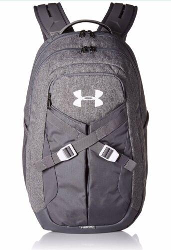 Graphite Medium Heather White New Under Armour Recruit 2.0 Bookbag Backpack
