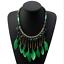Fashion-Jewelry-Crystal-Choker-Chunky-Statement-Bib-Pendant-Women-Necklace-Chain miniature 72