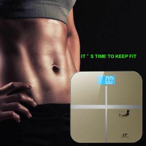180KG-Digital-LCD-Glass-Bathroom-Scale-Body-Weight-Watchers-High-Precision