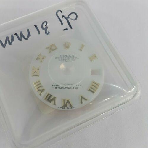 Rolex Datejust 31mm White Dial 68008 NEW GENUINE ORIGINAL SEALED