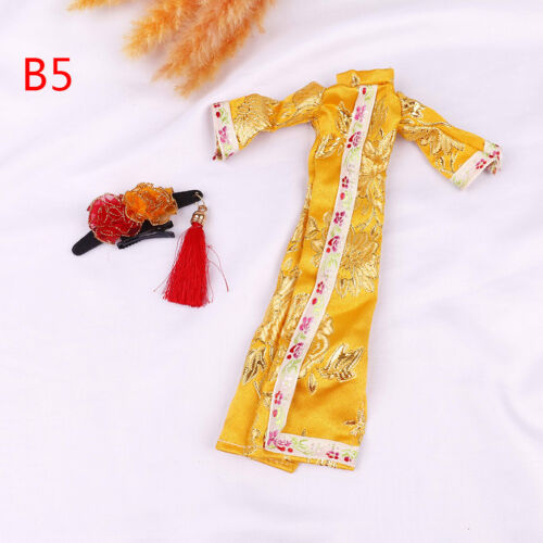 Doll handmade unique dress clothes for chinese traditional dress cheongsam N Jh