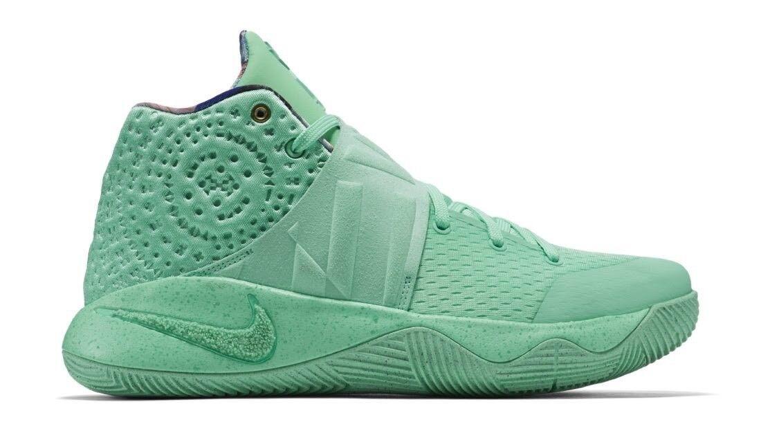 Nike kyrie ii che il bagliore verde 914681 3 300 9 vela bianca id partita 3 914681 pe lmtd 8c2735