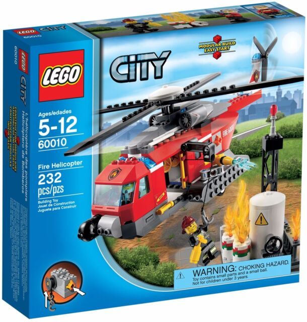 LEGO City Fire Helicopter (#60010)(Retired 2013)(Very Rare)(NEW)