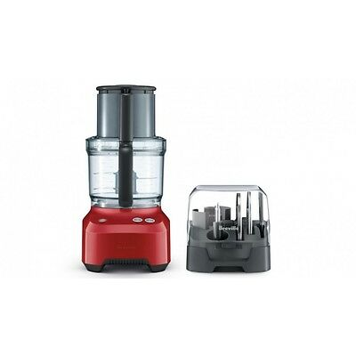 Breville BFP680CRN the Kitchen Wizz™ 11 Plus Food Processor - Cranberry