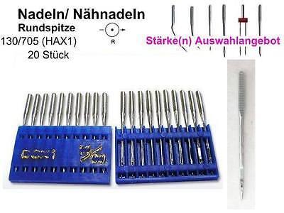 Nadeln 130//705 H SUK für EMPFINDLICHE Stoffe; AUSWAHL 100 Nähnadeln !