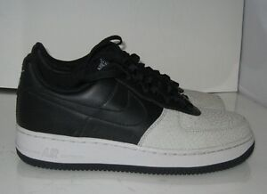 official photos 30a80 091e5 NEW MEN Nike Air Force 1 Low Black Neutral Grey 317295 002 Size 8 ...