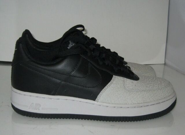 Nike Air Force 1 Low Black Neutral Grey 317295 002 Size 8 P for sale ... 8558642a9a07