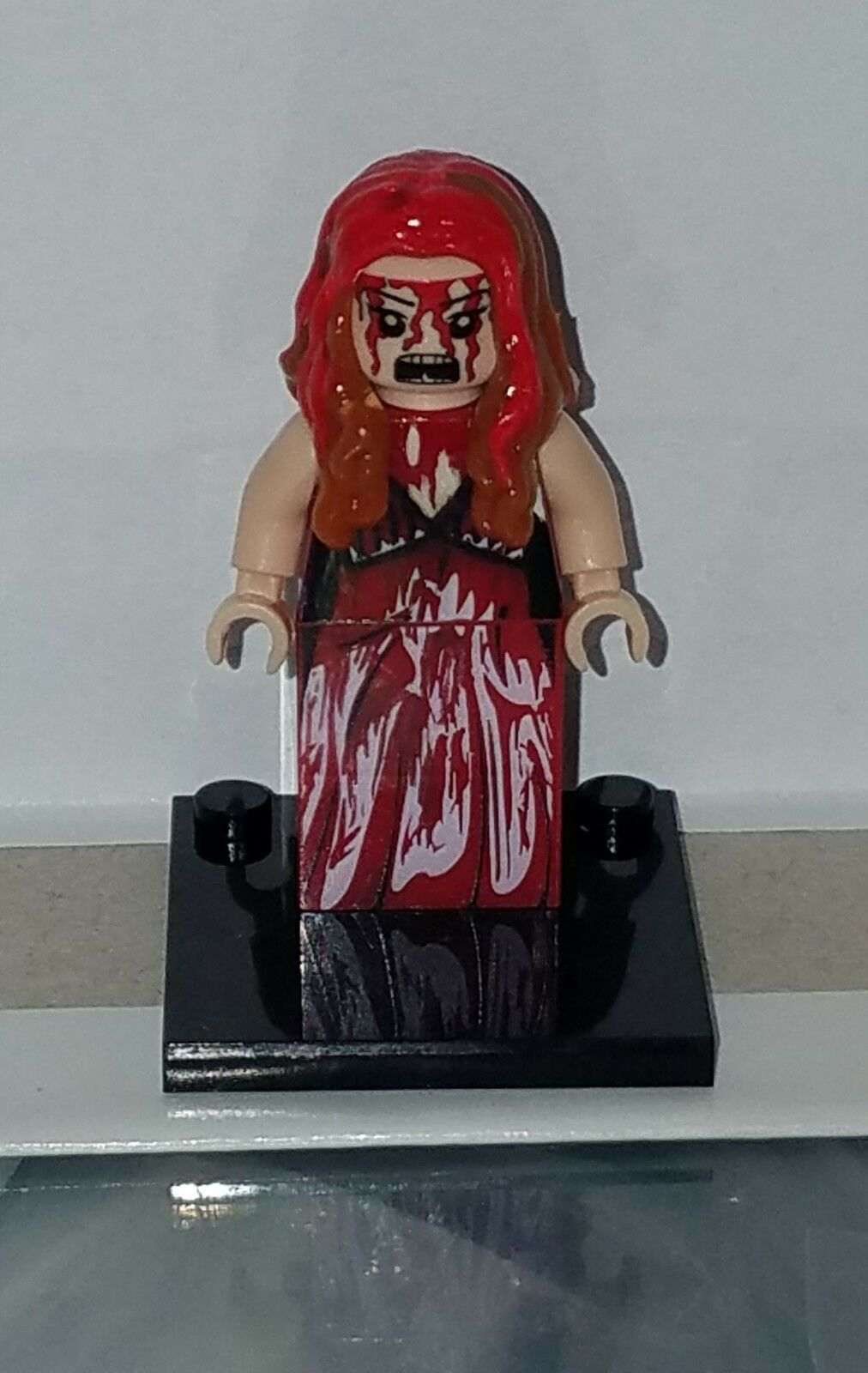 LEGO FROM MOVIE CARRIE BLOODY BLOODY BLOODY CARRIE f0a598
