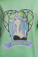 UNICORN fantasy fairy GOBBOLINO INDIE INDIE PASTEL GOTH FESTIVAL KAWAII T-SHIRT