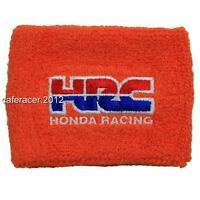 Hrc Honda Cbr Brake Reservoir Socks Fluid Tank Cover Orange 125 600rr 1000rr