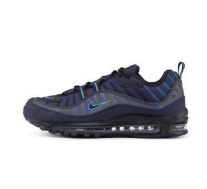 Nike Air Max 98 SE Black Blue Laser