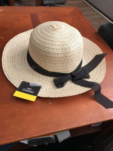 9acb88cc5ce41 Women Ladies Summer Wide Brim Straw Hat Floppy Derby Beach Sun Foldable Cap  New