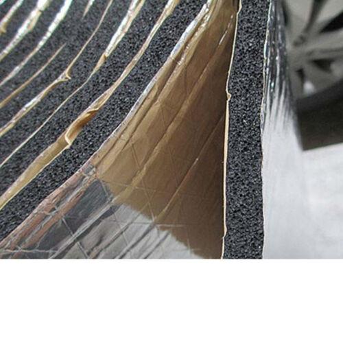 12 X Car Noise Sound Proofing Deadening Insulation 10mm 30X50cm Glass Fibre SF