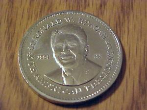 1984 ronald reagan presidential coin