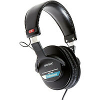 Brand Sony Mdr-7506 Professional Studio Live Dj Full Size Headphones