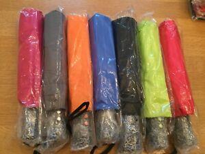 Wholesale Job Lot... 80 TELESCOPIC UMBRELLA... 5 Colours.... Great quality....