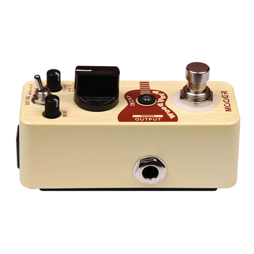 New Mooer Woodverb Acoustic Guitar Reverb Micro Guitar Effects Pedal