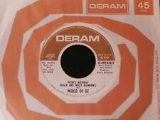 The World Of Oz-Peter's Birthday-RARE 1968 NON-LP PROMO Psych 45-CLEAN!