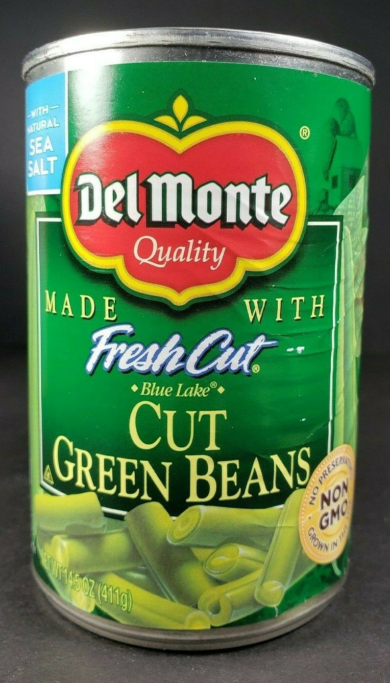 Del Monte Blue Lake Cut Green Beans, 50