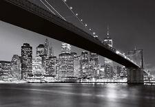 Wall Mural photo Wallpaper NEW YORK Brooklyn Bridge 366x254cm Cityscape Wall art
