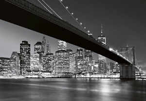 Image Is Loading Wall Mural Photo Wallpaper NEW YORK Brooklyn Bridge  Part 7