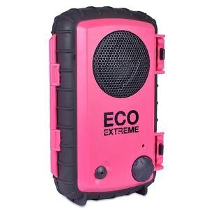 ECOXGEAR Waterproof Portable Speaker Case for iPhone,iPod,MP3,Smart phone Blue
