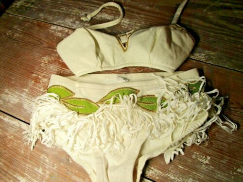 DeWeese Design Vintage 50's 60's Pin Up Swim Suit