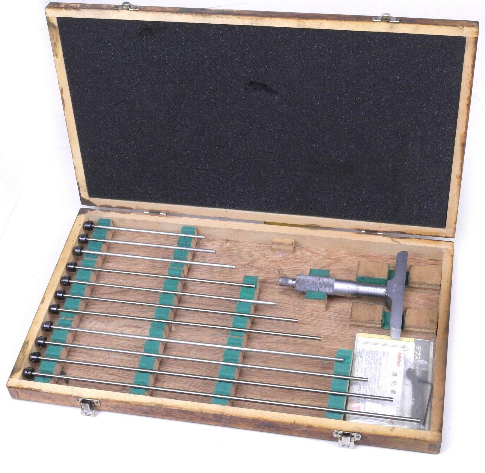 Mitutoyo 129-150 Depth Micrometer