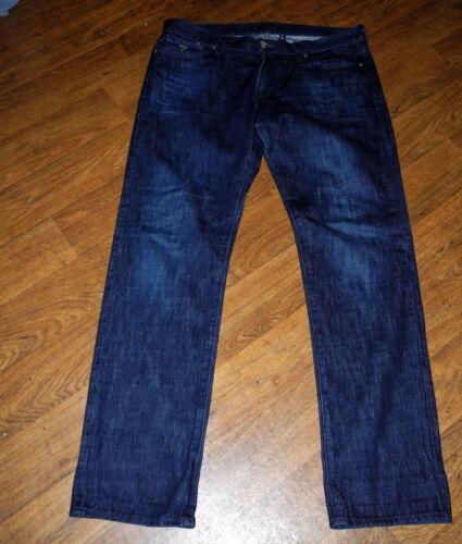 Rebel Pou Sz Lincoln Bleu Coupe Moyenne Noir Taille Jeans Droite Hommes Guess ZP5wq6Tpq