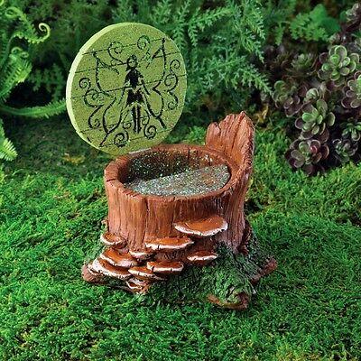 Miniature Fairy Garden Fairy Hatch w hinged door  GO 17237  Gnome  Hobbit
