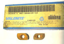 10 Valenite Face Mill Cutter Carbide Inserts Apet 160464 Er Grade V1n 10 Pack