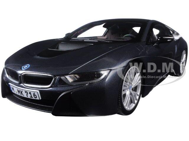 Bmw i8 sophisto und gefrorenen grau 1   18 nein auto - modell von paragon 97082