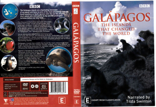1 of 1 - Galapagos : The Islands That Changed The World Region 4 (DVD, 2008, 2-Disc Set)