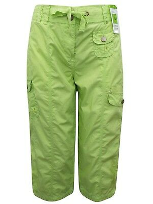M/&S Ladies Womans Cargo cambat Trousers Skinny Slim  6 8 10 12 14 16 18 20 22 24