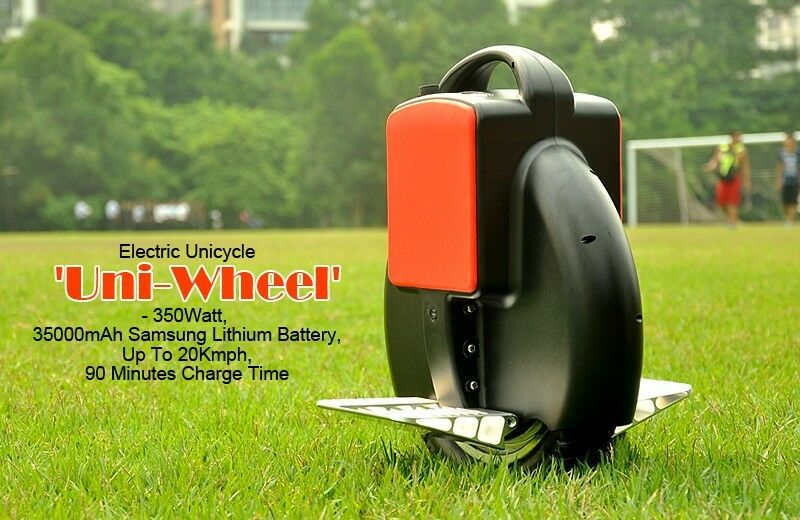 NEW OUTDOOR PORTABLE ELECTRIC UNICYCLE UNI-WHEEL TRAVEL BIKE SAMSUNG BATTERY