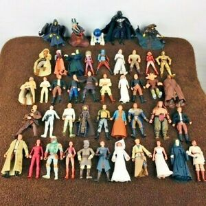 Star-Wars-Power-of-the-Force-44-Action-Figure-Lot-Kenner-Hasbro-POTF