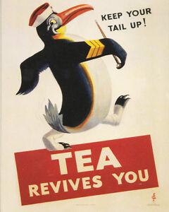 Lyons Tea VINTAGE ENAMEL METAL TIN SIGN WALL PLAQUE