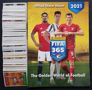 Panini Fifa 365 2021 Complete Set - Empty Album + All 449 Stickers