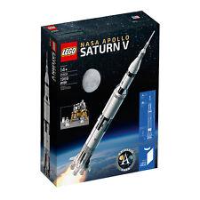 NEW SEALED LEGO 21309 Space Ideas NASA Apollo Saturn V FREE SHIPPING