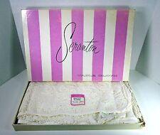 Vintage Scranton Table Cloth Wanderley White 72 x 90 Oblong Original Box New
