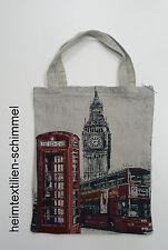 Einkaufstasche Jutebeutel Jutetasche Tragetasche Gobelin Cityshopper LONDON