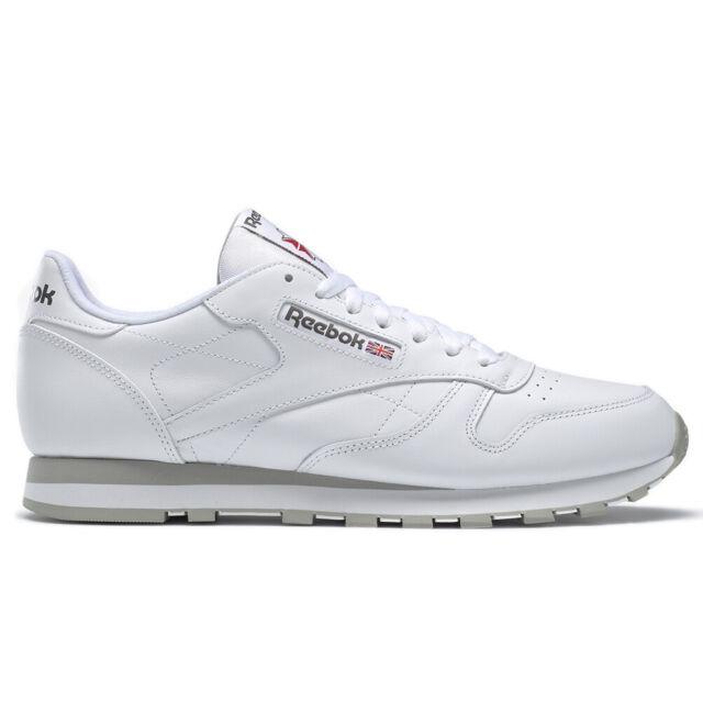 Reebok Classic Scarpe sportive Uomo bianche Bianco 40 5