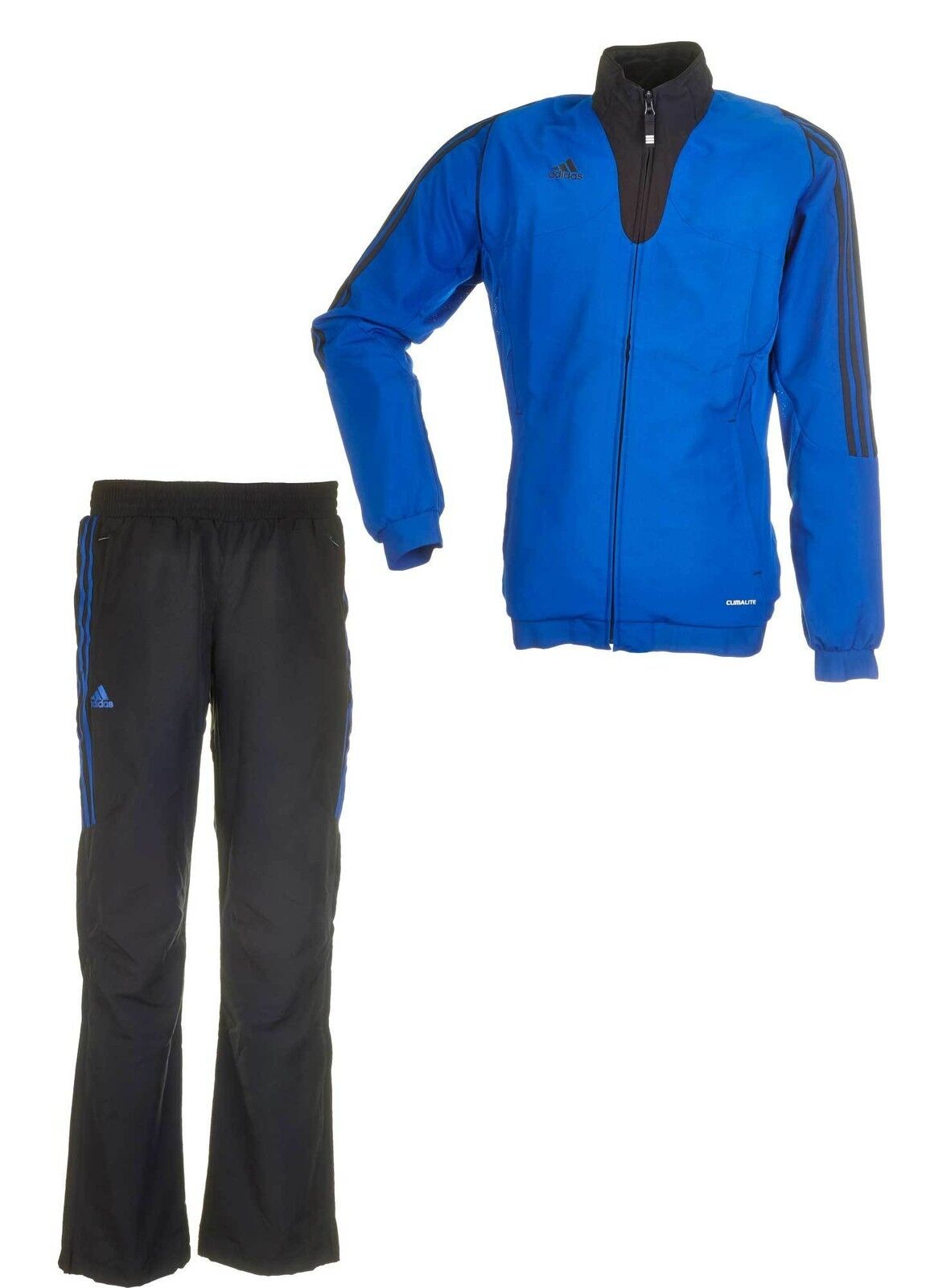 Adidas t12 chándal para caballeros, talla s,  Team Ware-traje, negro azul  solo para ti