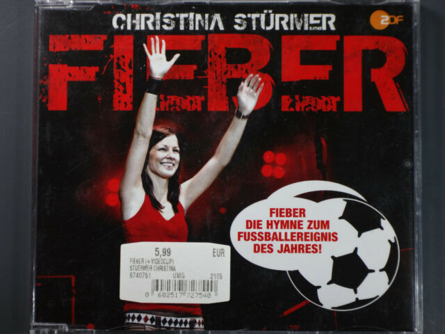 Christina Stürmer - Fieber >Maxi CD< + Video Clip (2008)