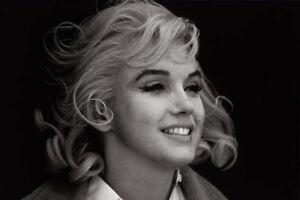Framed Print Marilyn Monroe Black White Picture Poster Art Film